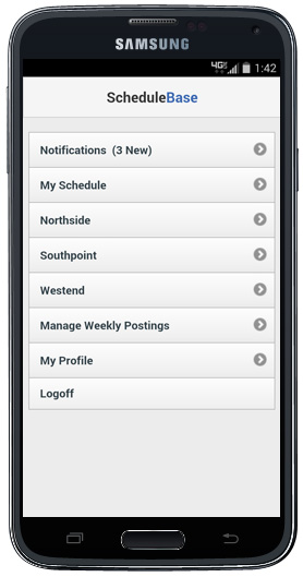 Employee Scheduling Software Mobile Apps